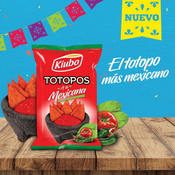 Totopos a la mexicana